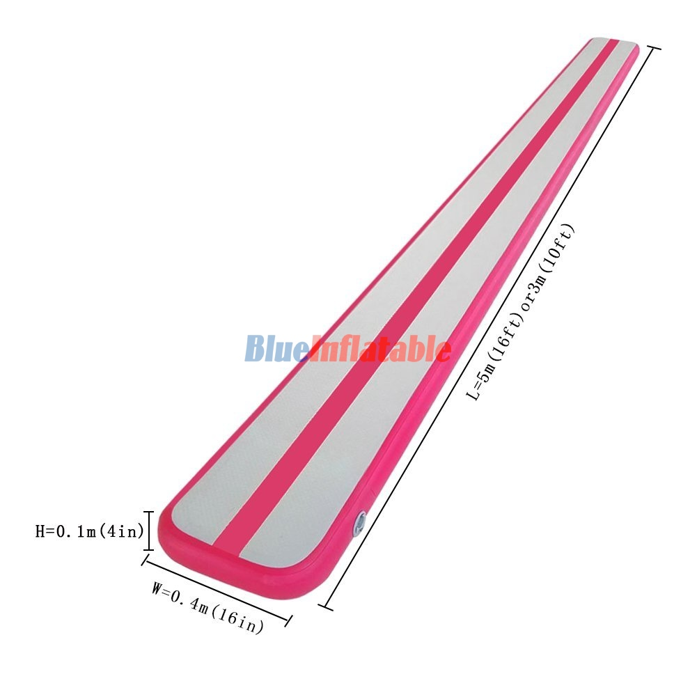 5m Or 3m Long 0 1m X 0 4m Height X Width Pink Airtrack